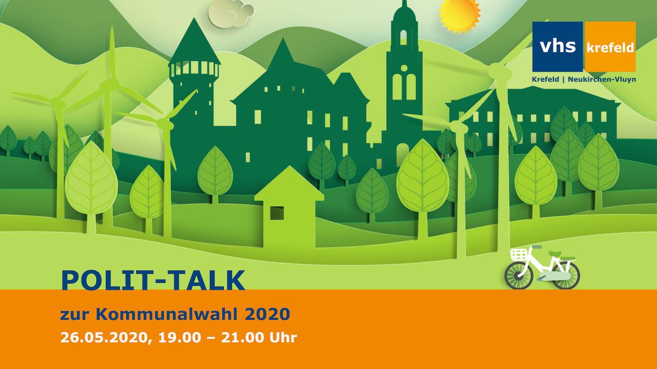 Startbild VHS Krefeld Polit-Talk