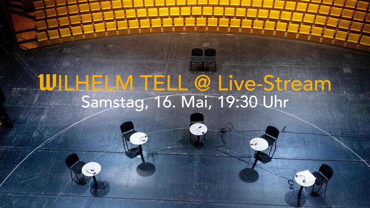 Bühne der szenischen Lesung Wilhelm Tell